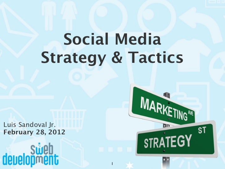 Social Media Strategies and Tactics for Business