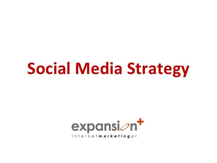 Social Media Strategy - Understanding the Need for One and the Consequences of NOT Having One.