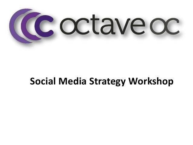 Social media strategy agenda ni apr 2013