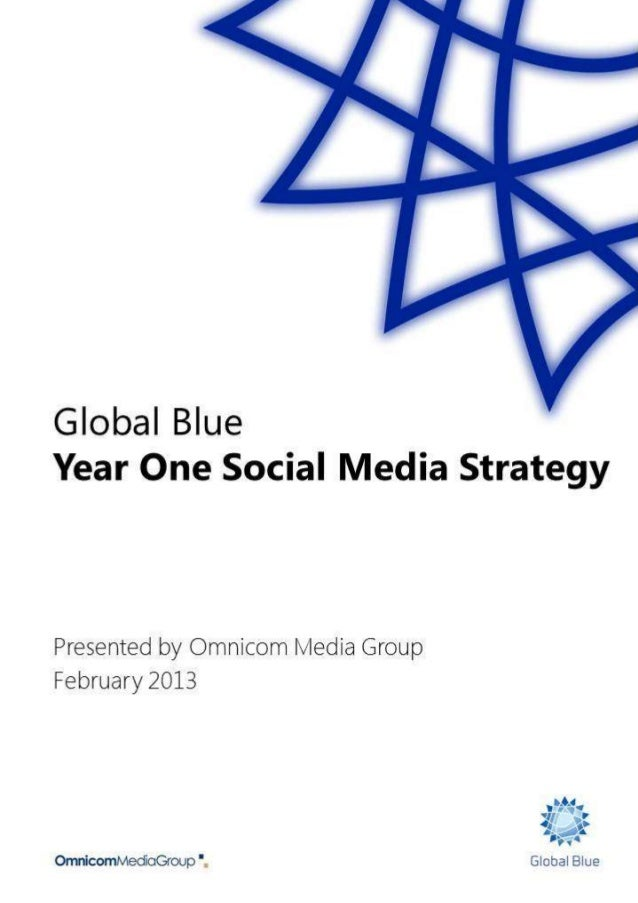 Social media strategy foreword & contents