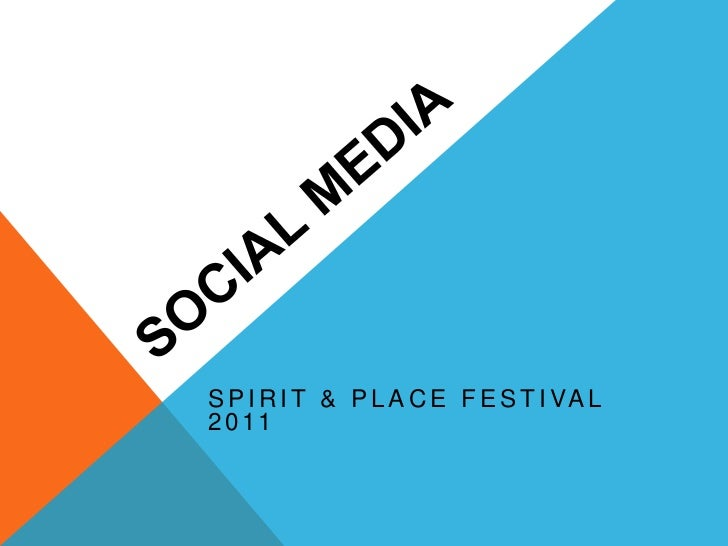 Social media & strategy for nonprofits: Spirit & Place