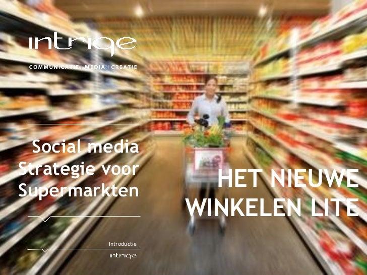 Vakcentrum: Hyves inzet voor supermarkten, focusgroep: lokale binding
