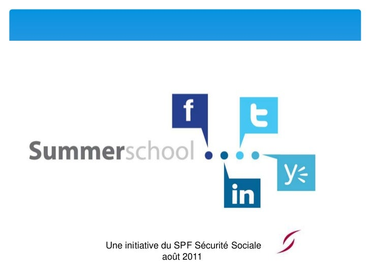 Social media summerschool twitter fr