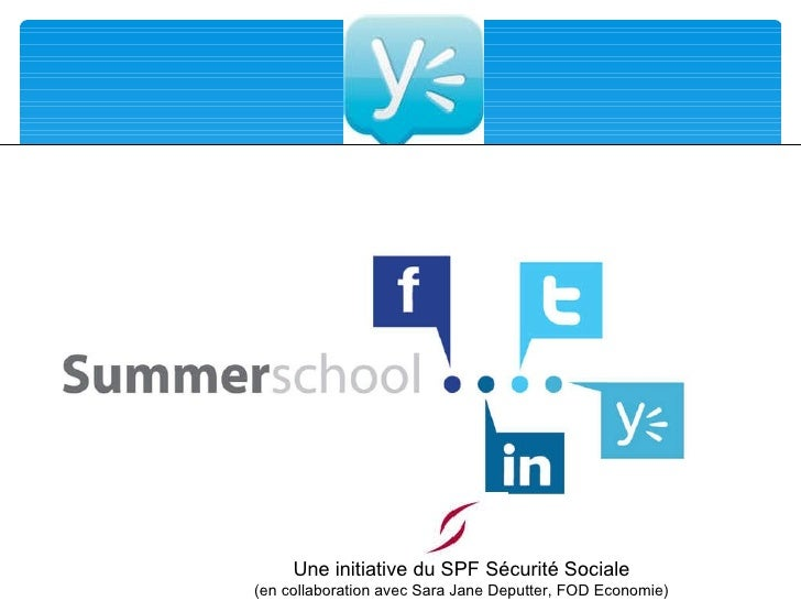 Une initiative du SPF Sécurité Sociale (en collaboration avec Sara Jane Deputter, FOD Economie)