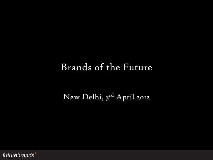 Brands for the Future - Santosh Desai, Future Brands at the IndiaSocial Summit 2012