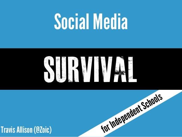 Social Media Survival for Private School Principals