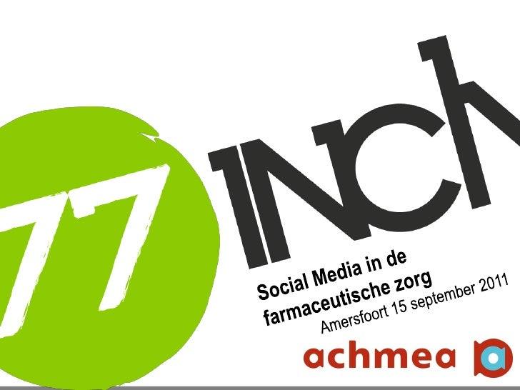 Social media symposium achmea 2011