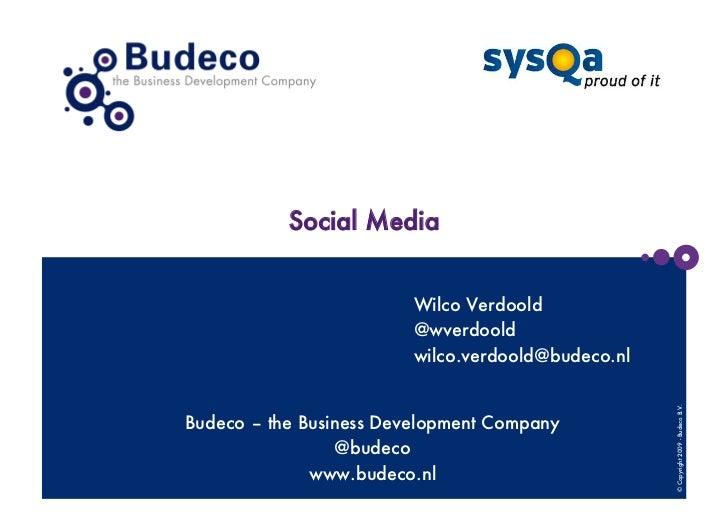 Social media sysqa