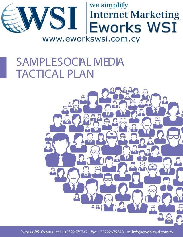 SAMPLESOCI L MEDIA           ATACTICAL PLANEworks WSI Cyprus - tel +35722675747 - fax: +35722675748 - m: info@eworkswsi.co...