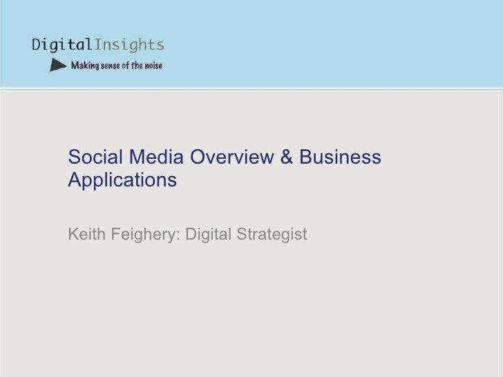 Social Media Talk - Terenure Enterprise Centre - Mon16th Nov