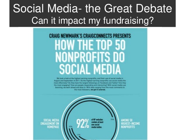 Social Media- the Great Debate   Can it impact my fundraising?  Ann Oleson, Converge Consulting