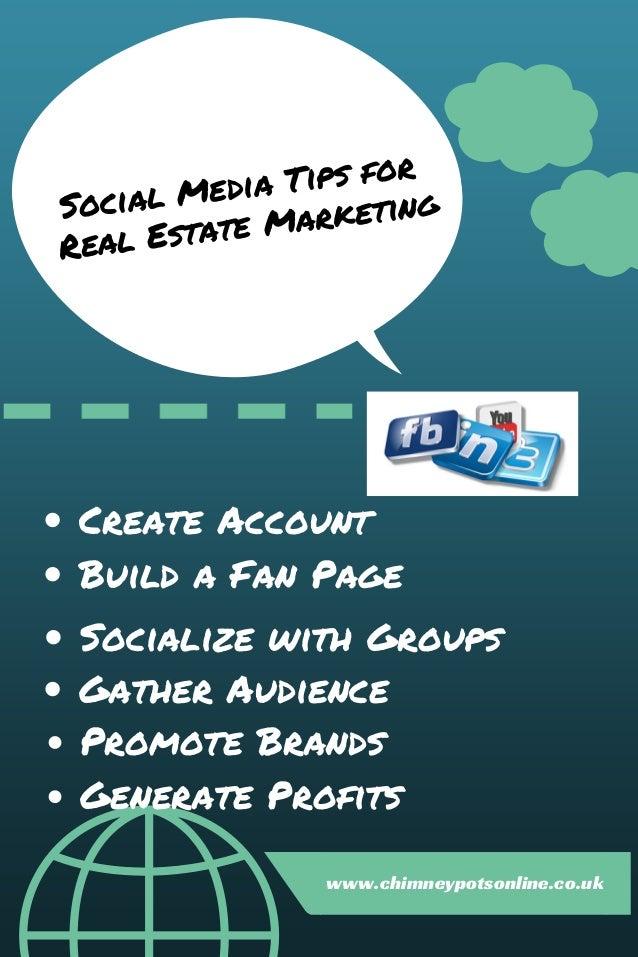 Social media tips for real estate