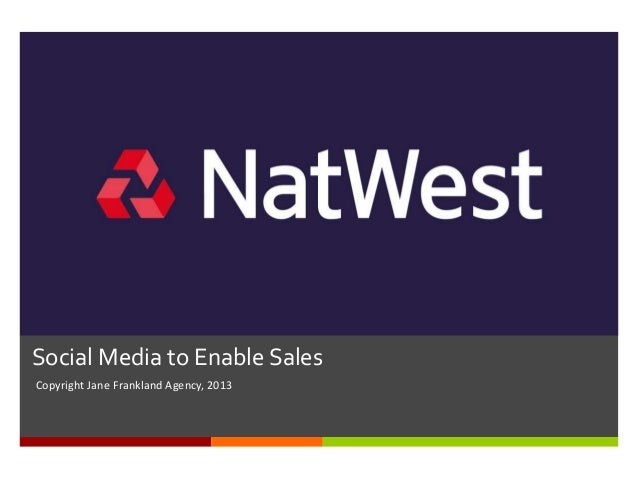 Social Media to Enable Sales for Natwest Summer Time Talk