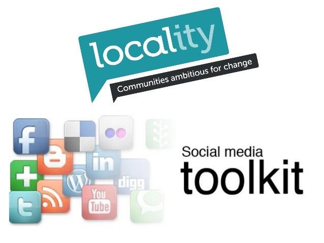 Social media toolkit   twitter facebook
