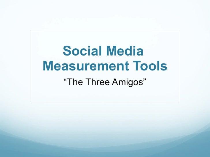 Social media tools webinar 1 11 12