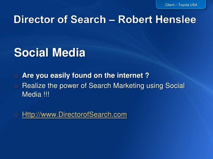 www.DirectorofSearch.com