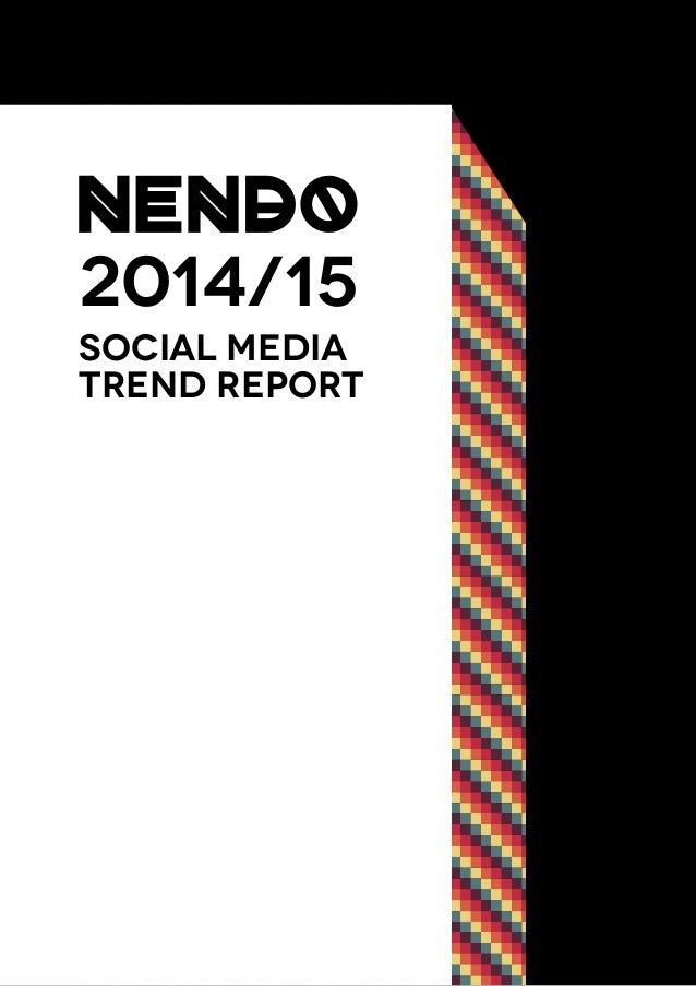 2014/15 Social Media Trend ReporT