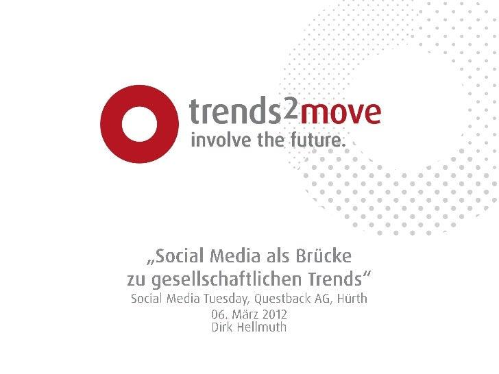 Social Media als Brücke zu gesellschaftlichen Trends
