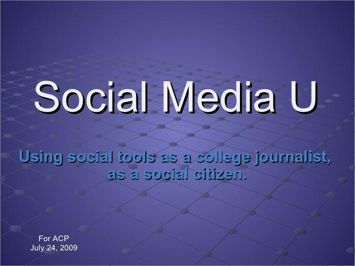 Social Media U
