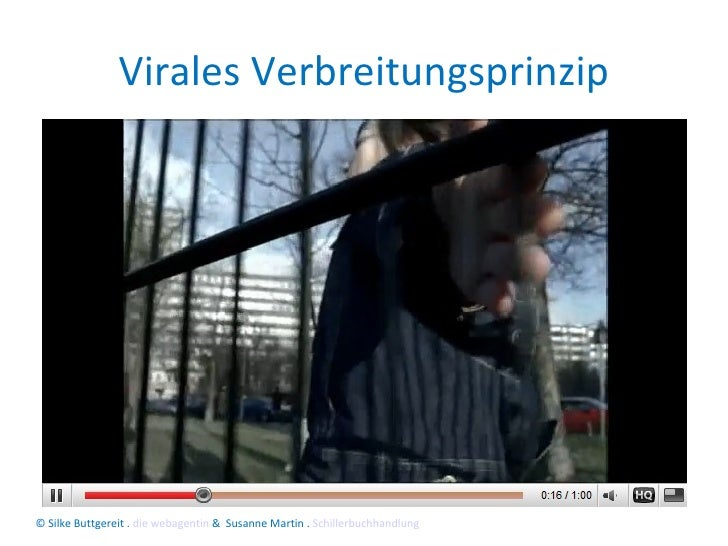 Virales Verbreitungsprinzip © Silke Buttgereit .  die webagentin  &  Susanne Martin .  Schillerbuchhandlung