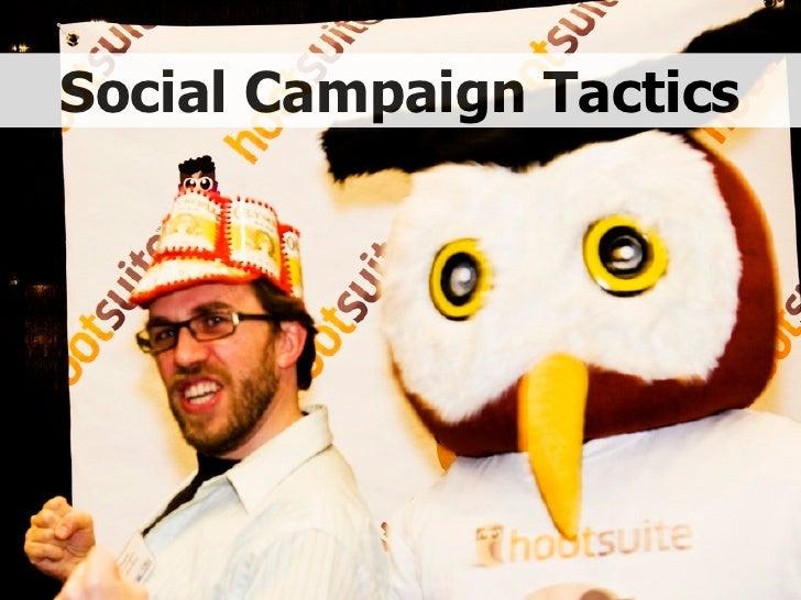 Social Campaign Tactics