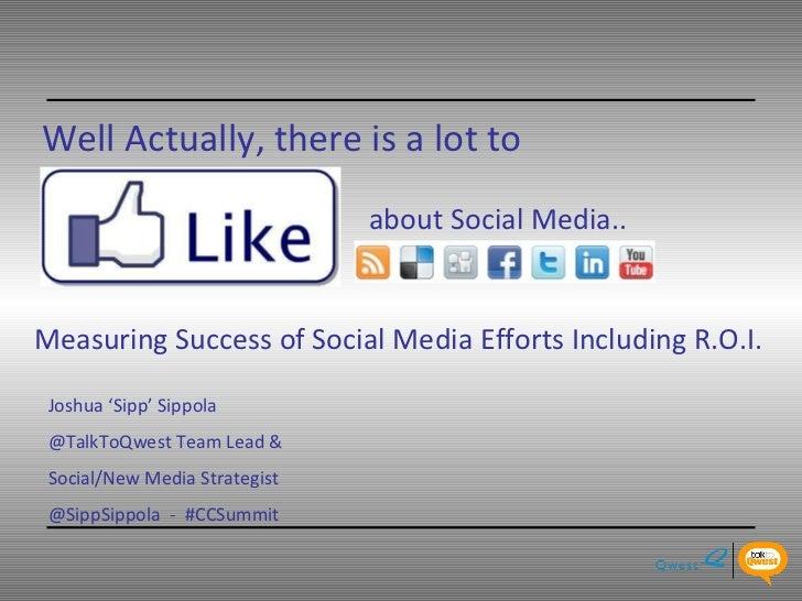 Social Media - Qwest Story