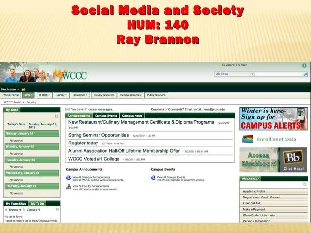 Social Media:  Week  1 -  Introduction