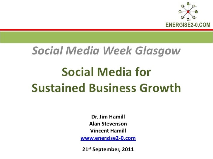 Social Media for Sustained Business Growth - How You Doing?