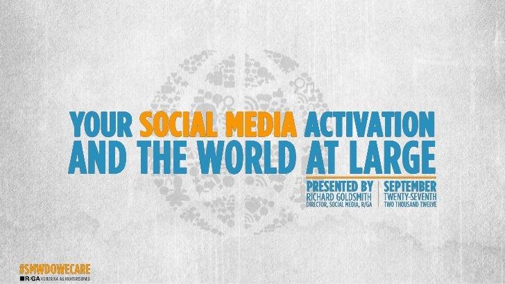 Social Media Week 2012 - #S