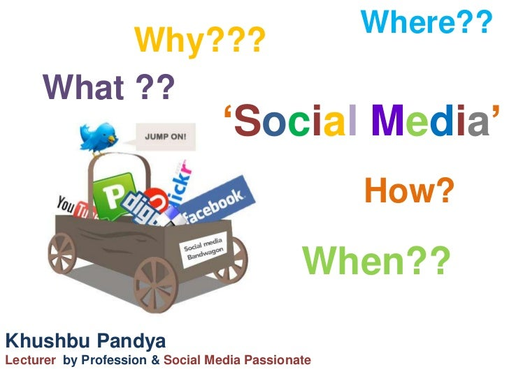 Where??          Why???     What ??                                 'Social Media'                                        ...