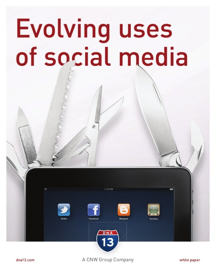 Social media whitepaper from d13 march 2001