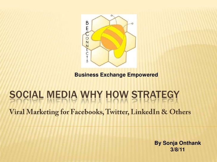 Social media why how strategy