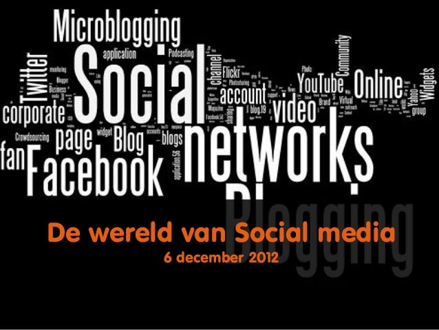Social media workshop, with focus on Facebook