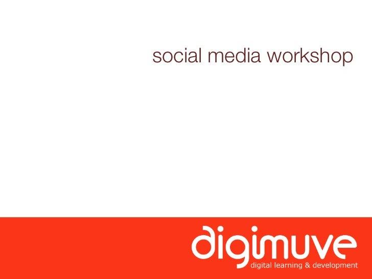 social media workshop        ysp 21.01.2010