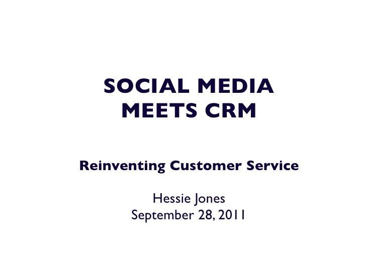 Social meets crm   federated press september 28, 2011