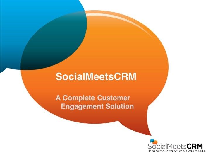 SocialMeetsCRM