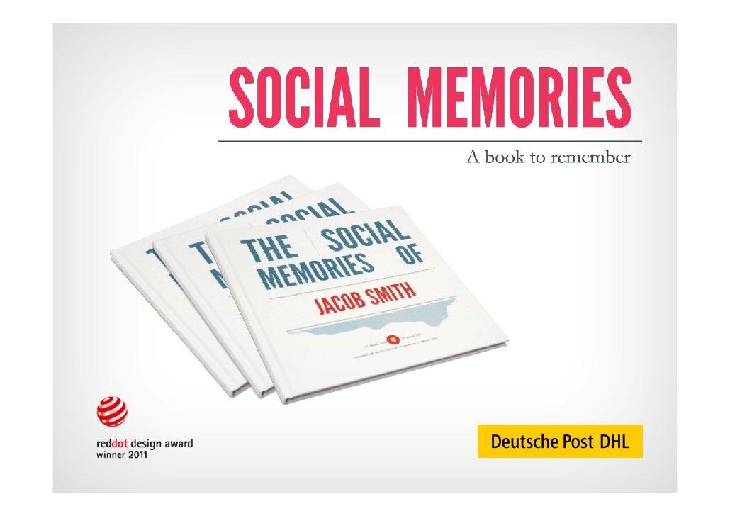 Drupa 2012 - Direct Mail Day - Social Memories by Deutsche Post