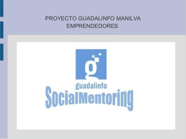 PROYECTO GUADALINFO MANILVA EMPRENDEDORES