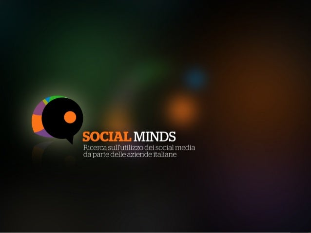 Social Minds - Presentazione II Edizione
