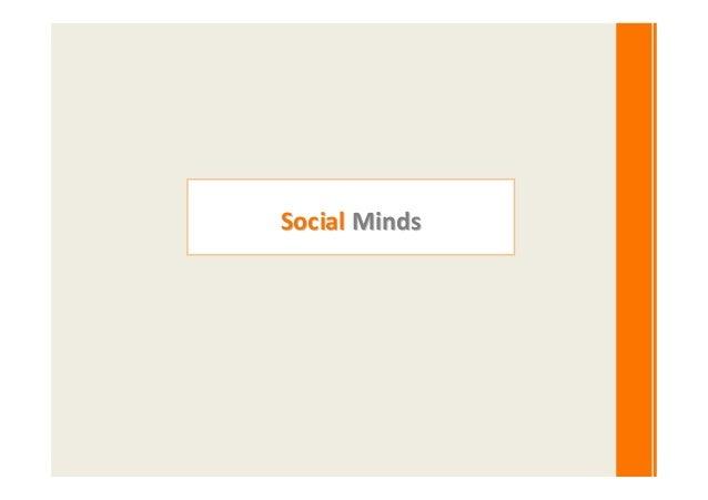 Social Minds update profile