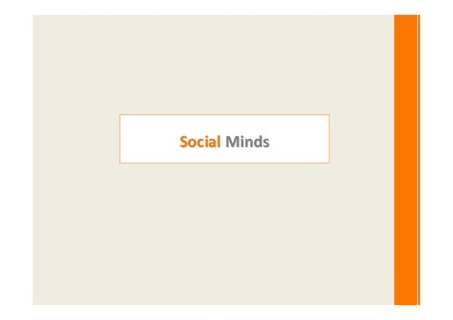 Social Minds update profile