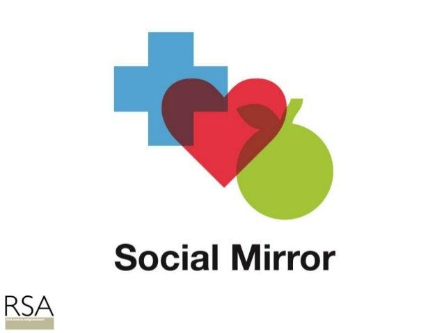 Social mirror for social prescribing
