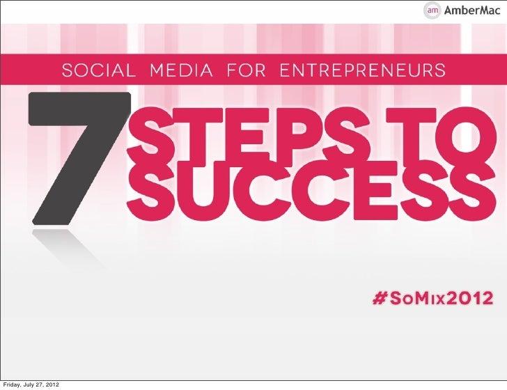 Social Media for Entrepreneurs by Amber Mac