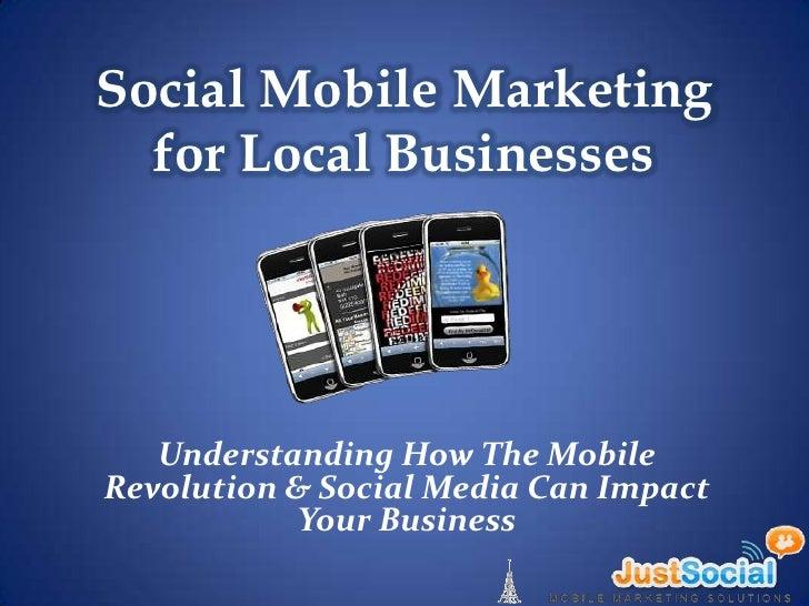 Social Mobile Marketing for Businesses