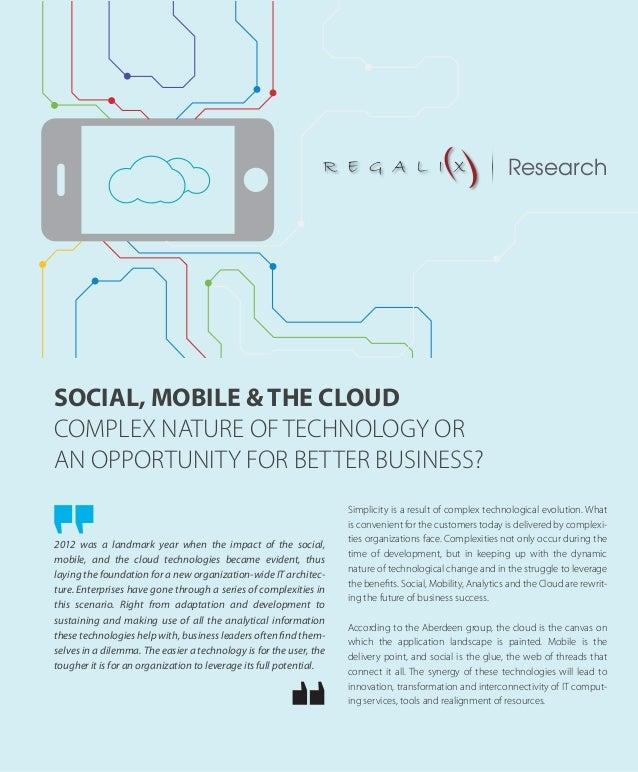 Social, mobile & the cloud web