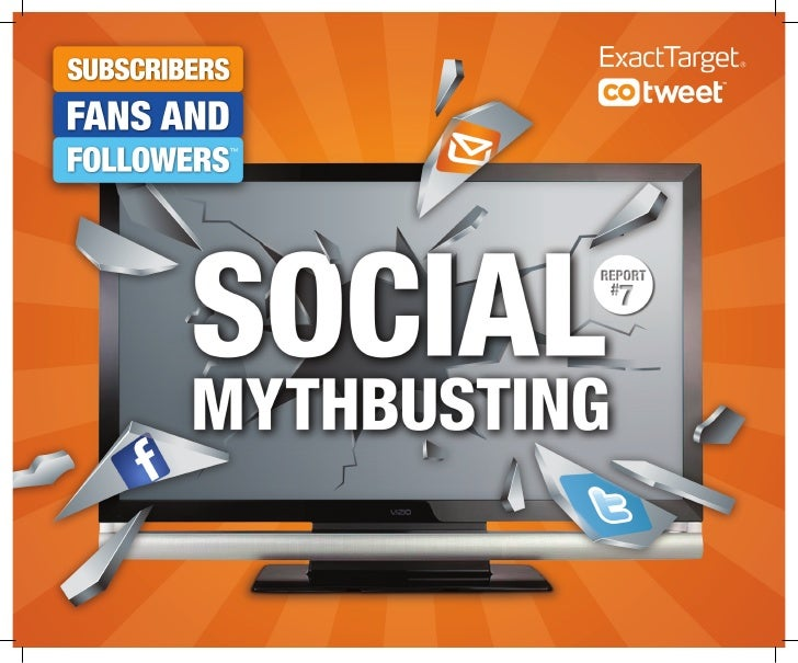 COMMON SOCIAL MEDIA MYTHS:                                       MYTH#1 EMAIL USE IS DECREASING    PLAUSIBLE OR BUSTED?   ...