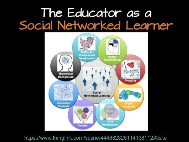 The Educator as a Social Networked Learner  https://www.thinglink.com/scene/444682826114138112#tlsite http://www.flickr.co...