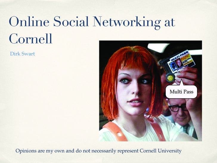 Social Networking - a light review for university staff