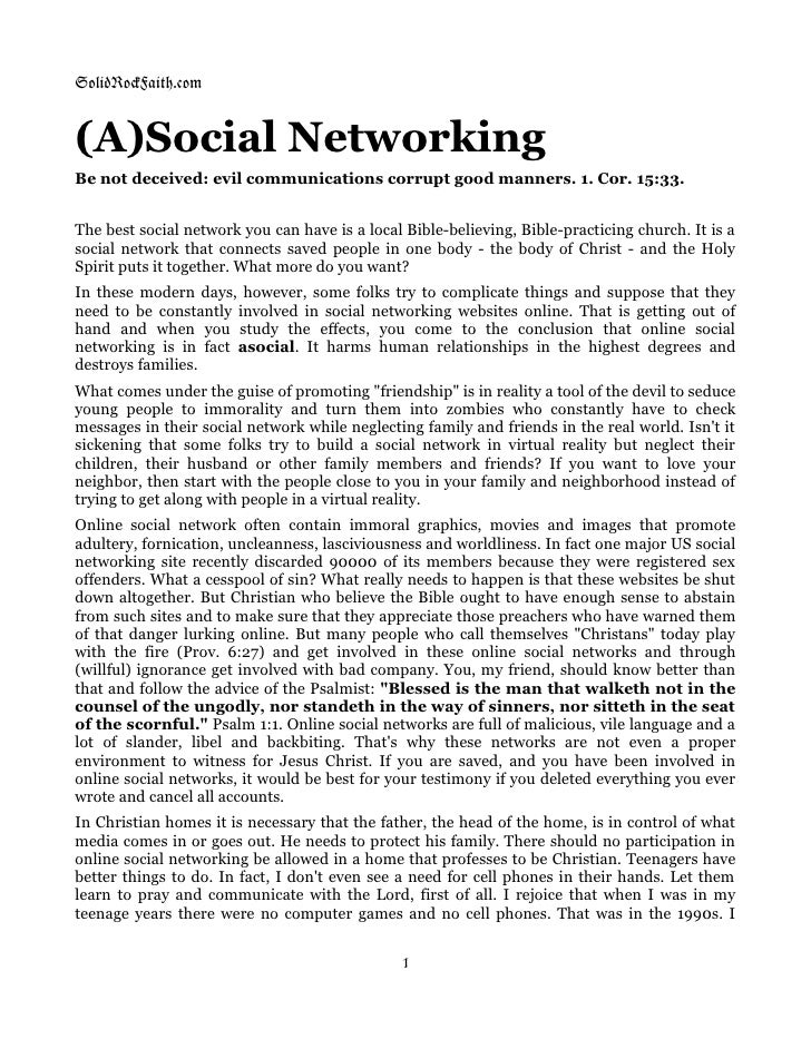 Asocial Networking