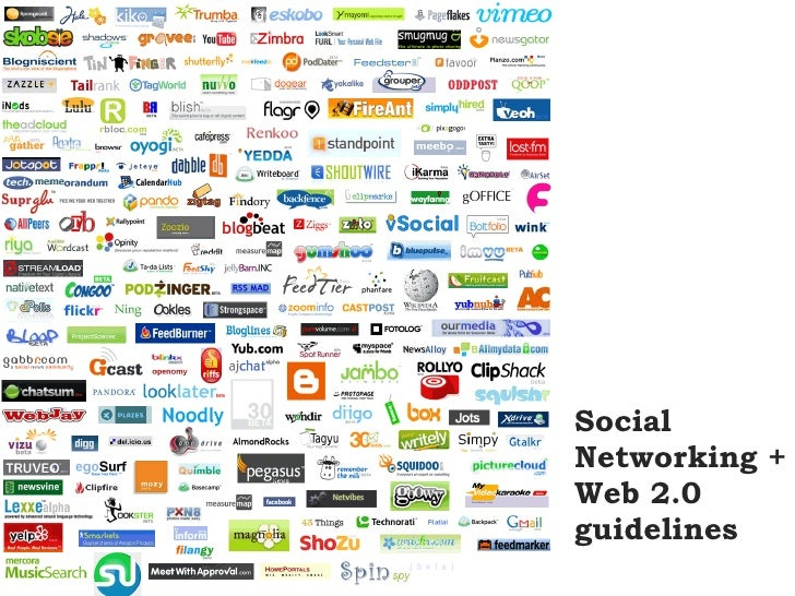 Social networking and web 2 guidelines